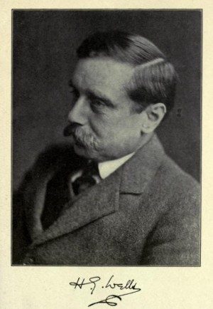 "H. G. Wells from the book ""Six Major Prophets"" by Edwin Slosson"