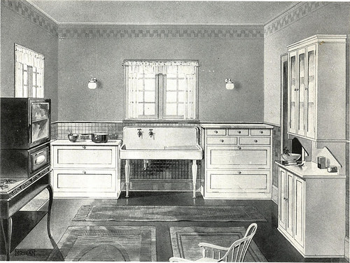 Kitchen from the 1920s
