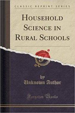 HouseholdScienceinRuralSchools